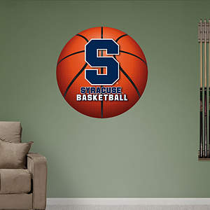 Syracuse Orange Basketball Logo Fathead Wall Decal